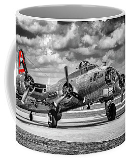 Red Tail Bommber Coffee Mug by Chris Smith