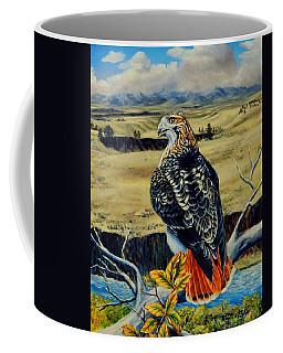 Red Tail Hawk Of Montana Coffee Mug