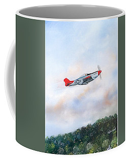 Red Tails Coffee Mug