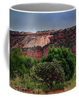 Coffee Mug featuring the photograph Red Terrain - New Mexico by Diana Mary Sharpton