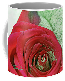 Red Coffee Mug by Terry Foster