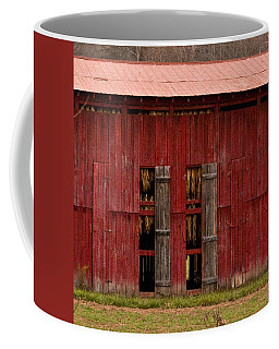 Red Tobacco Barn Coffee Mug