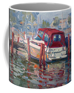 Red Top Boat Coffee Mug