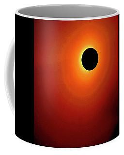 Red Totality Coffee Mug