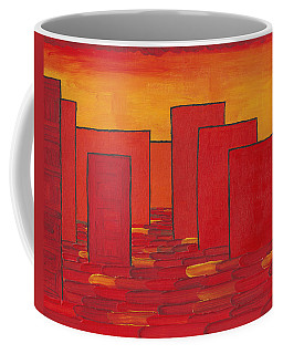 Red Town P1 Coffee Mug