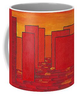 Red Town P2 Coffee Mug