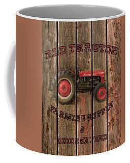 Red Tractor Farming Supply Coffee Mug