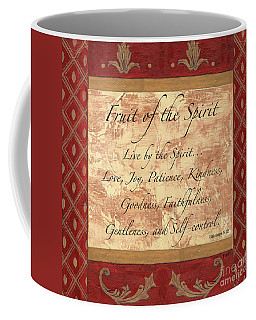 Red Traditional Fruit Of The Spirit Coffee Mug