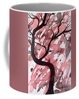 Red Tree Enchantment Coffee Mug