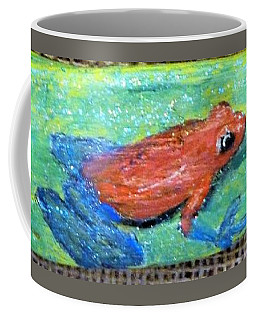 Red Tree Frog Coffee Mug by Ann Michelle Swadener