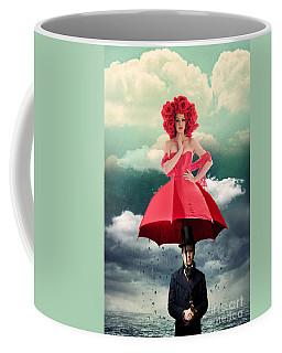 Red Umbrella Coffee Mug