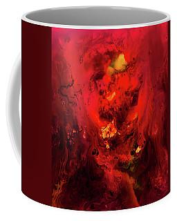 Red Universe Coffee Mug