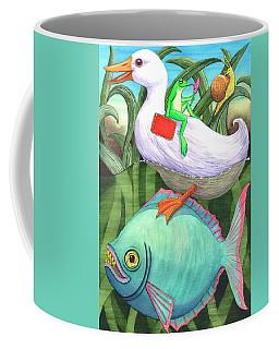 Red Valise Coffee Mug