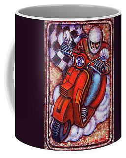 Red Vespa Coffee Mug
