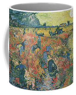 Red Vineyards At Arles Coffee Mug