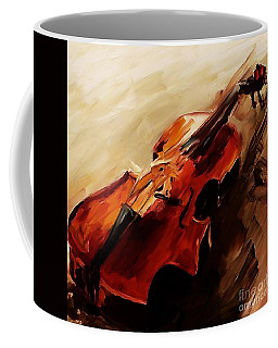 Red Violin  Coffee Mug