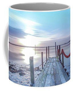 Coffee Mug featuring the photograph Red Vs Blue by Bruno Rosa