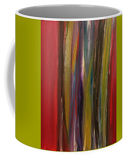 Red Weave Coffee Mug