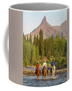 Coffee Mug featuring the photograph Red, White And Blue by Jack Bell