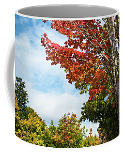 Red, White, And Blue Coffee Mug