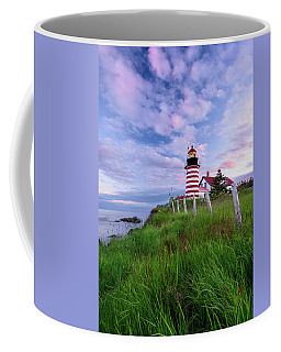 Red, White And Blue - Vertical Coffee Mug