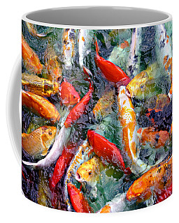 Red White And Gold Coffee Mug