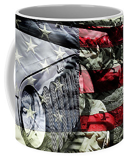 Red White And Jeep Coffee Mug