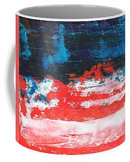 Red White Blue Scene Coffee Mug