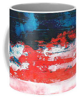 Red White Blue Scene Coffee Mug