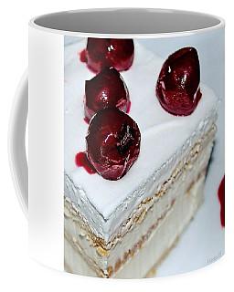 Red-white Cubes Coffee Mug