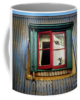 Red Windows Coffee Mug by Perry Webster