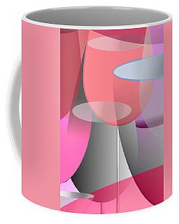 Red Wine Abstract Coffee Mug