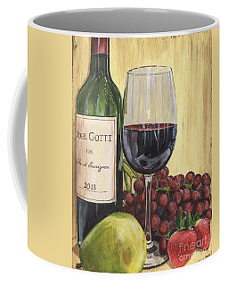 Red Wine And Pear 2 Coffee Mug