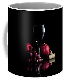 Red Wine With Fruit Coffee Mug