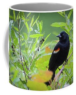 Red Wing In The Marsh Coffee Mug