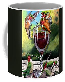 Red Winos Coffee Mug