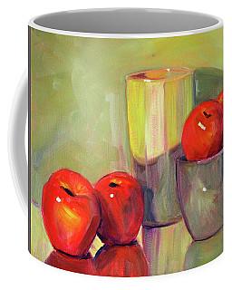Red With Green Coffee Mug