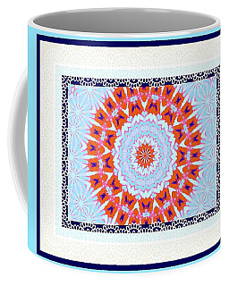 Coffee Mug featuring the photograph Red Wreath by Shirley Moravec