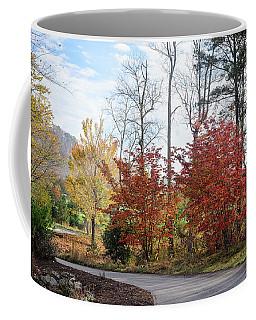 Red Yellow Path Coffee Mug