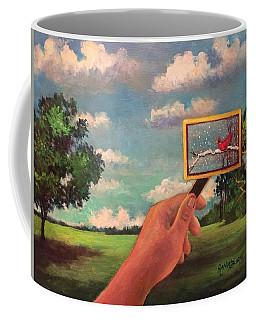 Redbird Wishes For Snow Coffee Mug