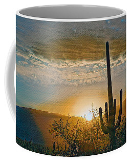 Coffee Mug featuring the photograph Reddington Ridge Sunrise Remix by Dan McManus