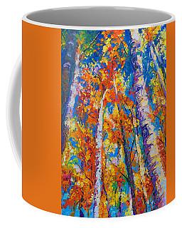 Redemption - Fall Birch And Aspen Coffee Mug