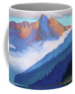 Redfish Lake - Low Clouds Coffee Mug