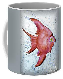 Coffee Mug featuring the mixed media Redfish by Walt Foegelle