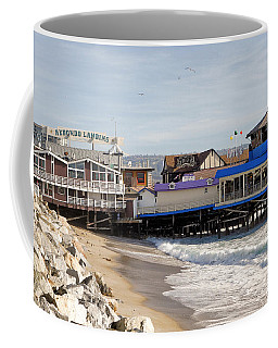 Redondo Beach Pier Shopping Coffee Mug