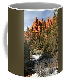 Redrock Winter Coffee Mug