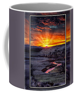 Redwater River Sunrise Coffee Mug