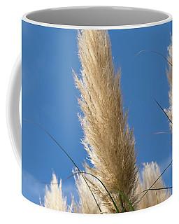 Reeds Against Sky Coffee Mug