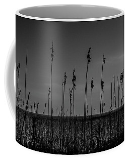 Coffee Mug featuring the photograph Reeds by Keith Elliott