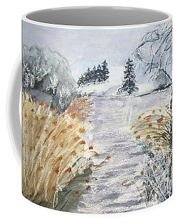 Reeds On The Riverbank No.2 Coffee Mug